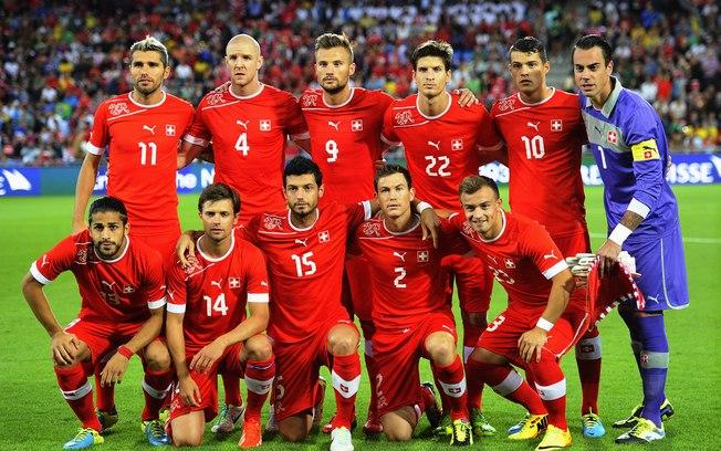 Seleção da Suiça