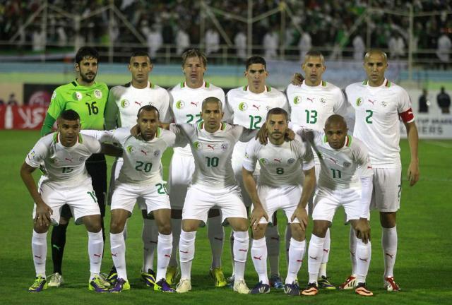 Seleção da Argelia