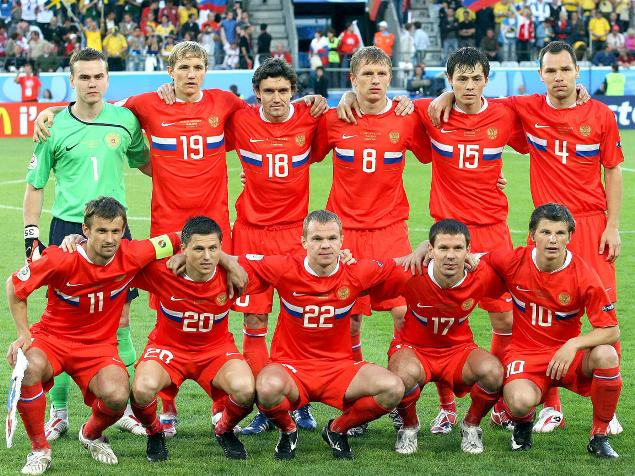 Seleção da Russia