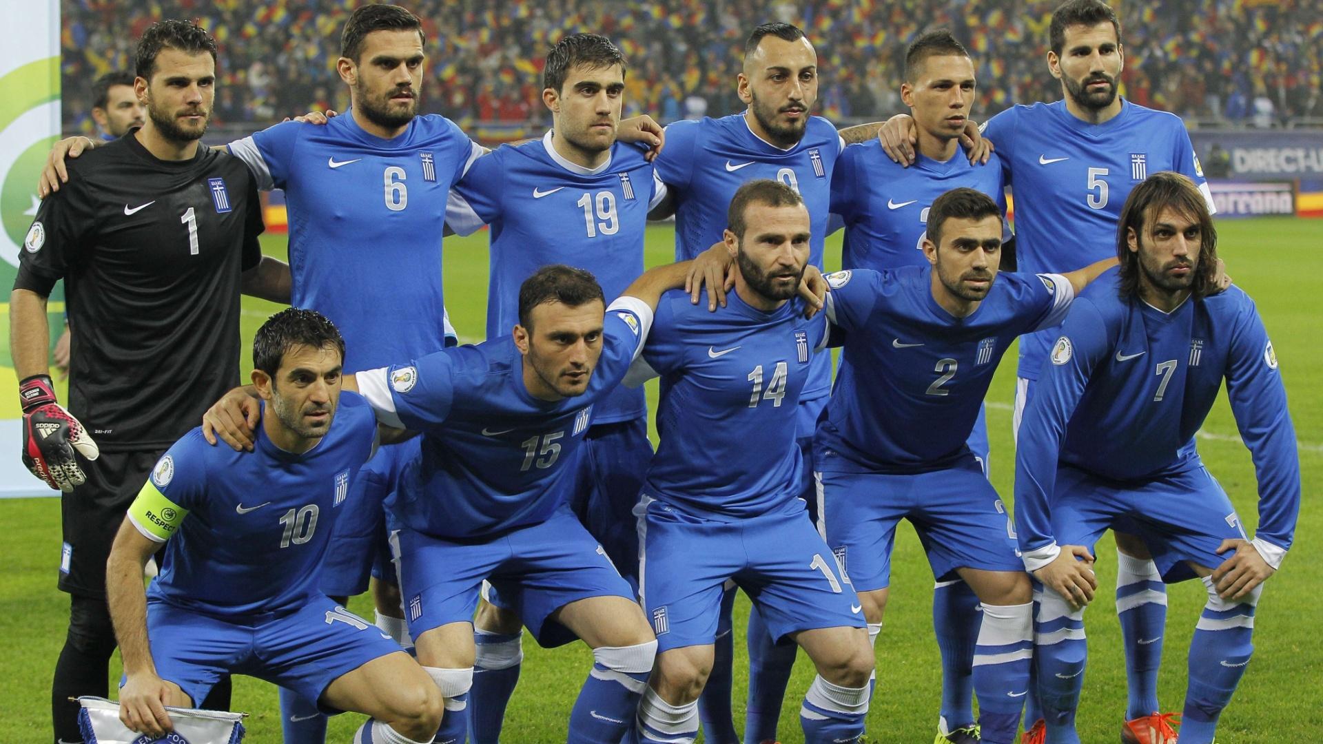 Seleção da Grécia