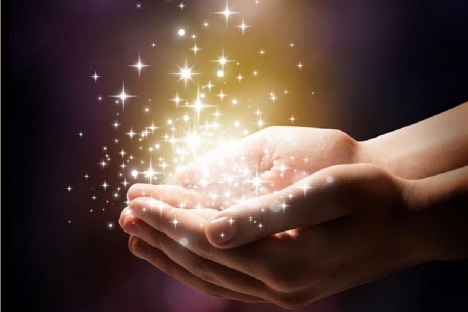 Estrelas nas mãos