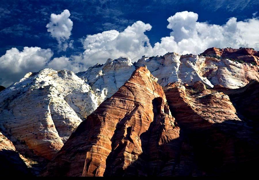 Montanha nas nuvens