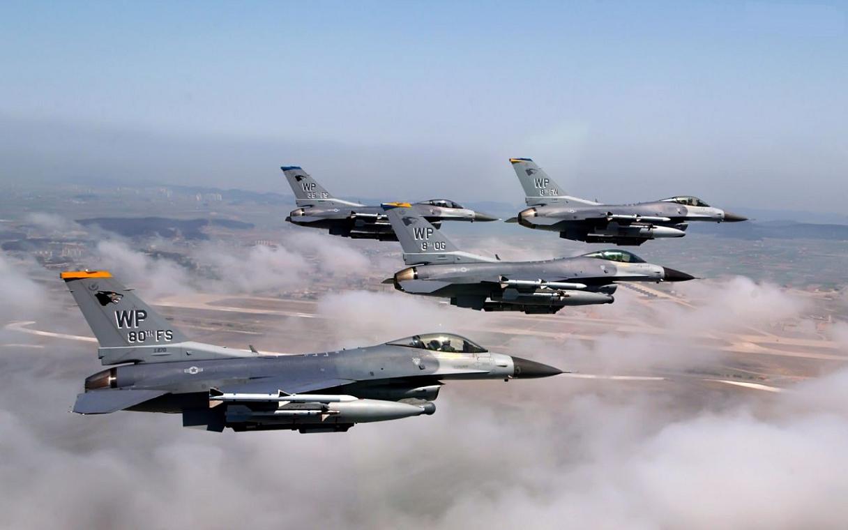 Avião de caça militar