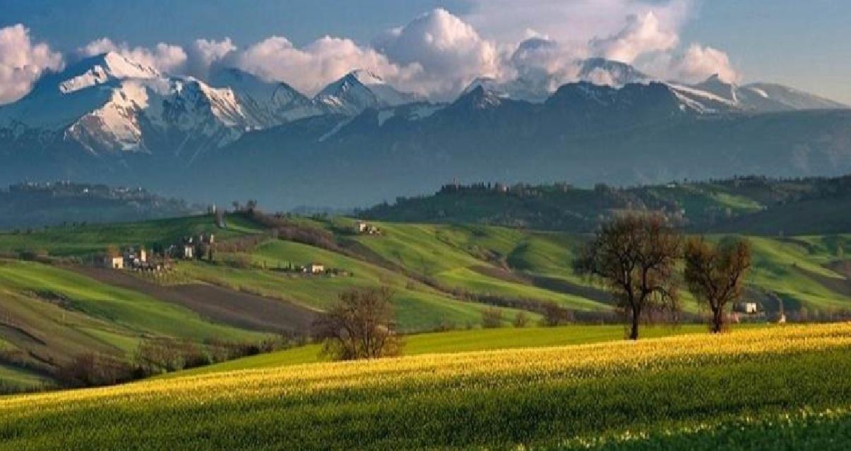 Campos montanhas