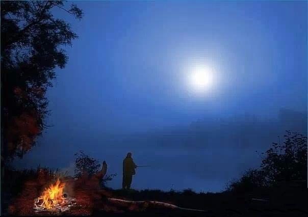 Pescando a noite