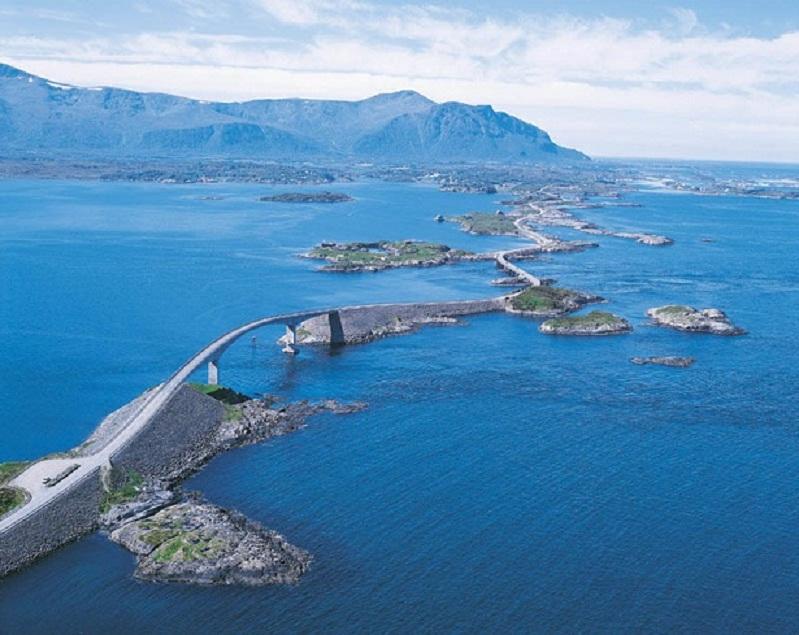 Atlântico Road Noruega