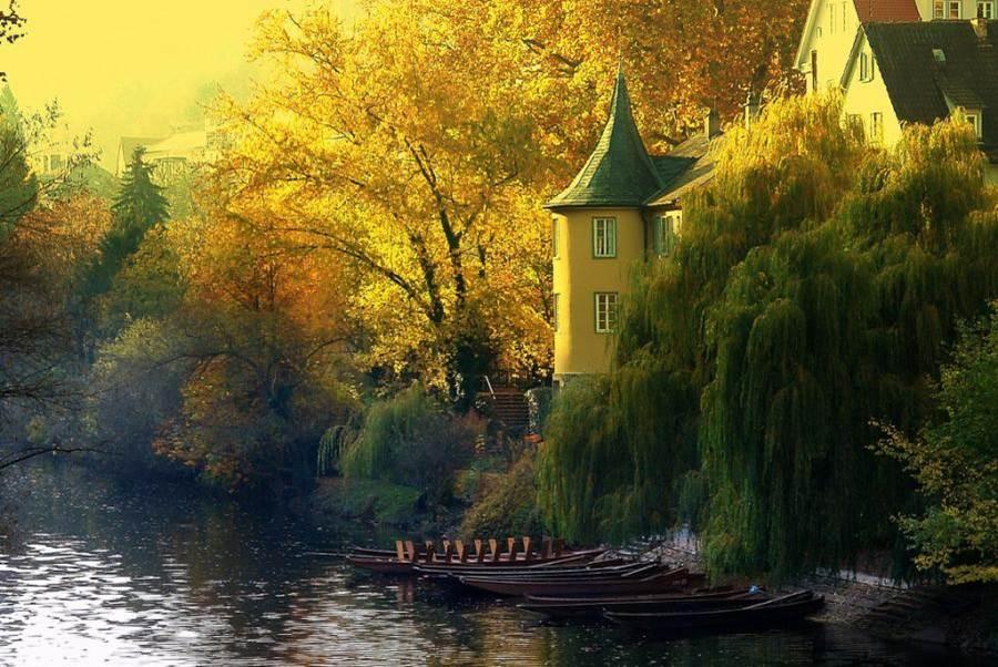 Casa barcos lago