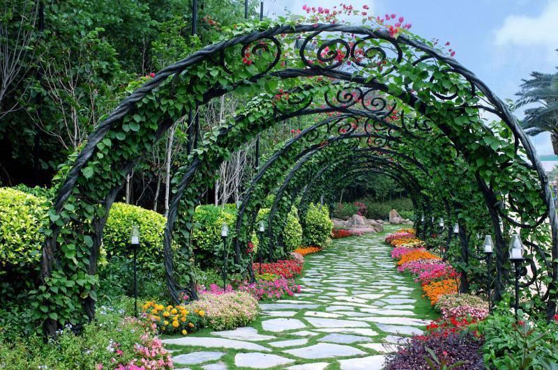 Jardim arco