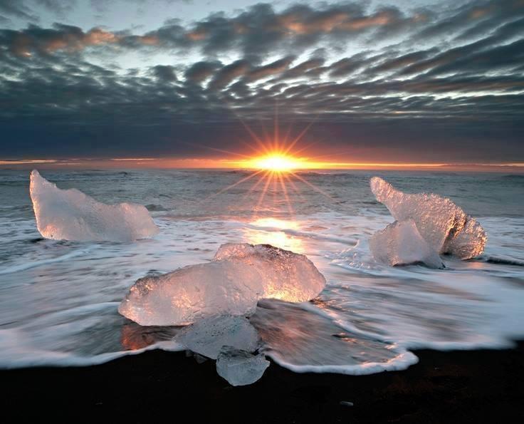 Blocos de gelo